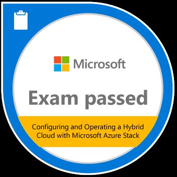 Exam passed