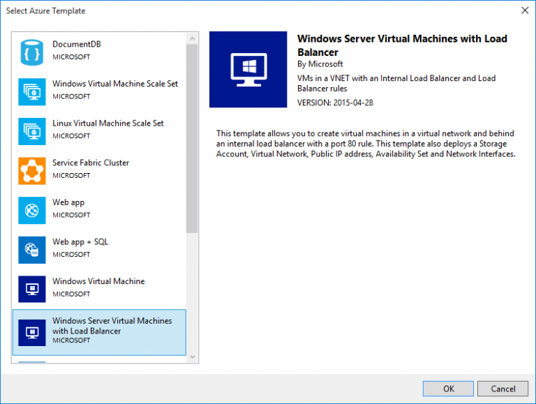 Windows Server VM with Loadbalancer